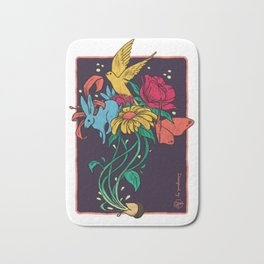 Seeds of Inspiration Bath Mat