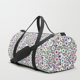 Candy Pastel Eyeball Pattern Duffle Bag