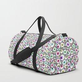Candy Pastel Eyeball Pattern Duffle Bag