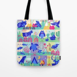 colorHIVE animals Tote Bag
