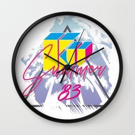 KU KU palm beach Wall Clock
