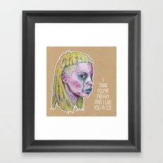 Yo-Landi Visser Framed Art Print