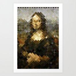 Mosaic carpet Art Print