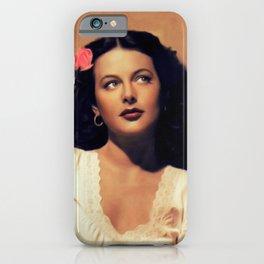Hedy Lamarr, Actress iPhone Case