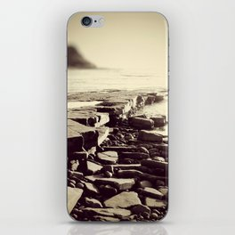 The Misty Shore iPhone Skin