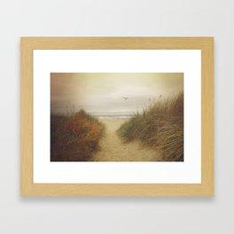 Rockaway Beach Framed Art Print