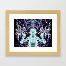 Receive the Light Framed Art Print