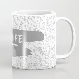 #momlife - Grey Coffee Mug