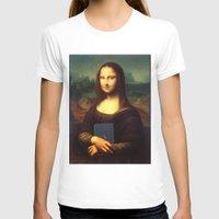 mona lisa T-shirts featuring mona lisa by Roman Belov