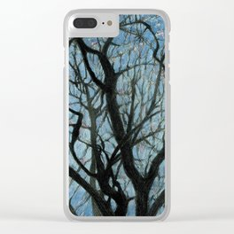 BETWEEN BRANCHES Clear iPhone Case