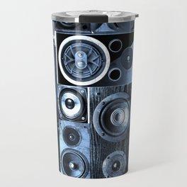 Music Speaker Sound Stack Travel Mug