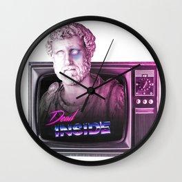 Dead inside. Wall Clock