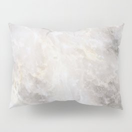 Grey and Gold Marble Pillow Sham