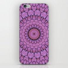 Pink Pattern Mandala iPhone & iPod Skin