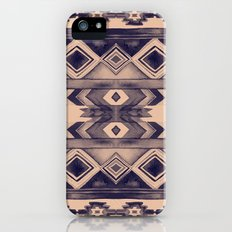 Southwest Pattern- Peach & Purple Slim Case iPhone (5, 5s)
