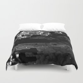 Cellular Automata 01 Duvet Cover