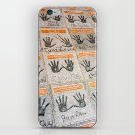 Hollywood hands iPhone Skin