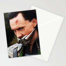 Loki Digital Painting  Stationery Cards