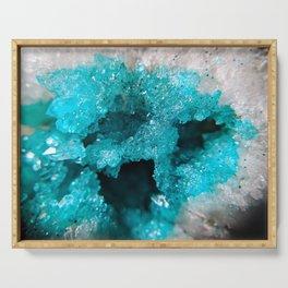 Turquoise Caverns Serving Tray