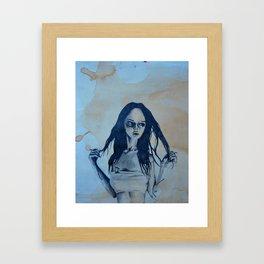 Spræd Framed Art Print
