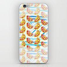 Stripes and Oranges iPhone & iPod Skin