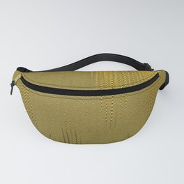 Golden Fabric Image. Fanny Pack