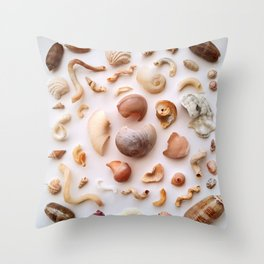 Twisted Bits Throw Pillow