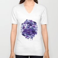 mineral V-neck T-shirts featuring Mineral by Lindella