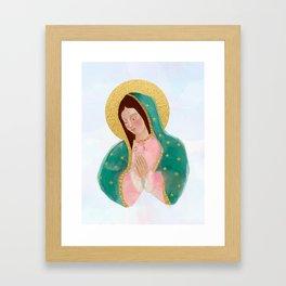 VIRGEN DE GUADALUPE Framed Art Print