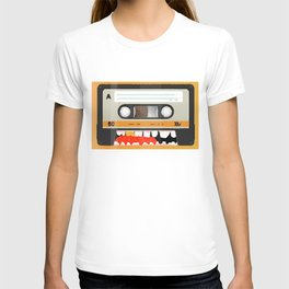 The cassette tape golden tooth T-shirt