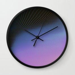 Ever So Slightly Wall Clock
