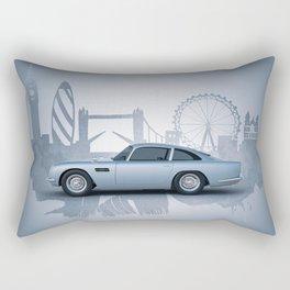 British Automotive Icon Rectangular Pillow