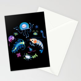 Zooplankton Stationery Cards