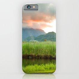 Koneohe Sunset iPhone Case