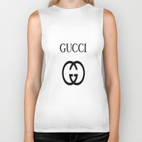 gucci Biker Tanks featuring Gucci by I Love Decor