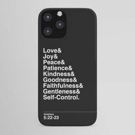 GALATIANS 5:22-23 iPhone Case