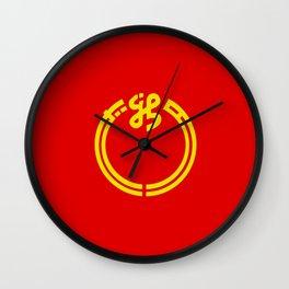 niigata region flag japan prefecture Wall Clock