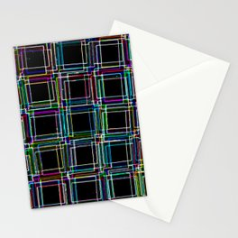 Neon Staircase Stationery Cards