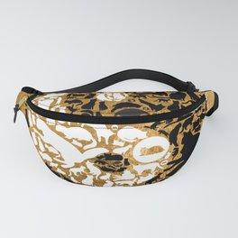 Yin-Yang Cats - Gold Fanny Pack