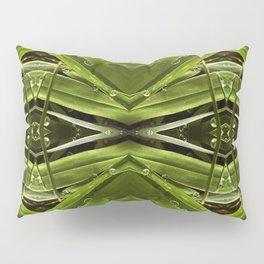 Dew Drop Jewels on Summer Green Grass Pillow Sham