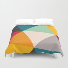 Geometric Triangles Duvet Cover
