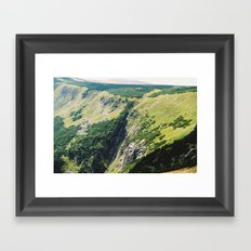 Sněžka Mountain (Remastered) Framed Art Print