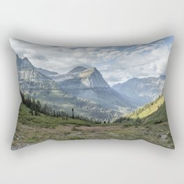 Catching a View from Going to the Sun Road Rectangular Pillow