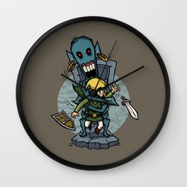 Legend of Zelda Wind Waker ReDead T-Shirt Wall Clock