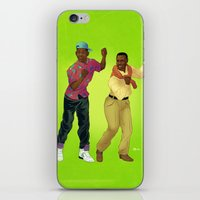 fresh prince iPhone & iPod Skins featuring Fresh Prince by Dave Collinson
