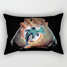 Miami Gloves Rectangular Pillow