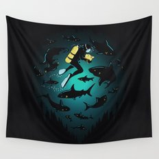 Screwed Wall Tapestry