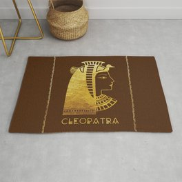 Cleopatra, the last active ruler of the Ptolemaic Kingdom of Egypt Rug