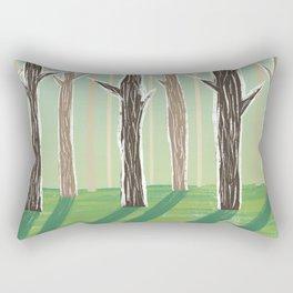 Forrest Shadows Rectangular Pillow