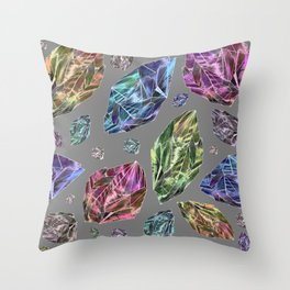 Asteroids in Space Throw Pillow